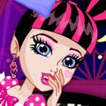 Monster Slumber Party Funny Faces Games : This weekend Draculaura, Lagoona, Frankie and you are going to have so much fun! ...