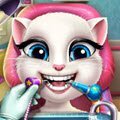 Angela Real Dentist Games : Our favorite kitten, Angela, woke up with a cavity ...
