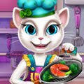 Angela Real Cooking Games : Angela always wanted to become a chef and now she  ...