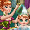 Anna's Baby Wash Games : Get Anna's cute little girl ready for a lovely mother-daughter day out in Arende ...