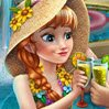 Anna Pool Celebration Games : Join the bubbly princess Anna on her romantic vaca ...