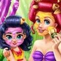 Ariel Mommy Real Makeover Games : Mermaids are curious creatures by nature and Ariel can not w ...