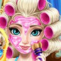 Elsa Mommy Real Makeover Games : Queen Elsa is teaching her daughter how to act lik ...