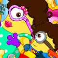Minion Pregnancy Games : This adorable minion lady here is about to give birth to her ...