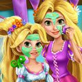 Rapunzel Mommy Real Makeover Games : Like mother, like daughter, princess Rapunzel's da ...