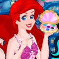 Ariel's Underwater Salon Games : Disney Princess Ariel has just opened her underwater beauty  ...