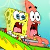 Fiery Tracks of Fury Games : SpongeBob and Patrick are trapped on the Fiery Fist of Pain  ...