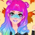 Barbie Galaxy Faces Games : The spring festivals are in session and Barbie has already d ...