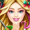 Barbie Christmas Real Haircuts Games : Barbie loves Christmas, for beautiful girls this is the perf ...