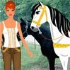 Lucky Ranch Games : Dress-Up Barbie and lovely horse. ...