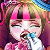 Baby Monster Real Dentist Games : The cute baby monster ate so much candy that her t ...