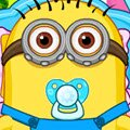 Minion Babies Games : These funky minions are in the mood to play today, but befor ...