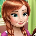 Anna's Crafts Games : Anna loves arts and crafts, so when she sees a competition f ...