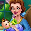 Belle Baby Feeding Games : Belle is now a mommy and her little baby girl keeps her very ...