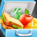 Lunchbox Sandwich Games : Are you getting ready to go to school? Then do not forget yo ...