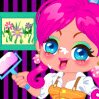 Painter Girl Games : The girl is really a busy girl. She can not stop h ...