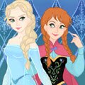 Snow Queen Scene Maker Games : Use the female and male buttons (bottom left corne ...