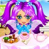 Fairy Tea Party Games : Tend this tea-time trio! ...