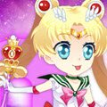 Chibi Sailor Moon Games : Sailor Moon has saved the day multiple times, so she deserves a high quality mak ...