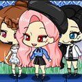 Chibi Moon Night Games : Make your own fresh Chibi Girl with various hair,  ...