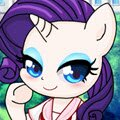 Chibi Ponies Games : Do you wanna try, new Canterlot High school unifor ...