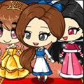 Chibi Princess Belle Games : Create your own adorable kawaii Princess Belle gir ...