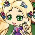 Chibi Tangled Style Games : Create your own adorable kawaii Princess Rapunzel! ...