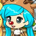 Chibi Christmas Girl Games : Create your own adorable little Xmas girl! ...