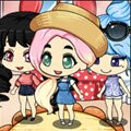 Chibi Girl Summer Vacation Games : Create your own adorable kawaii Summer Vacation Ch ...
