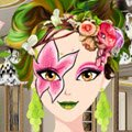 Flower Power Make Up Games : This girl loves flowers. Use your fashion skills t ...