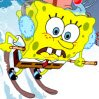 SpongeBob Avalanche Games : Plankton is going to trigger an avalance to bury the holiday ...