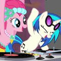 DJ Pinkie Pie Games : Pinkie Pie who discovered that she likes being a Dj and she invites you to join her and mix together ...