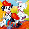 Dalmatians Rotate Puzzle Games : 101 Dalmatians Rotate Puzzle, Arrange the pieces correctly t ...
