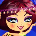 Belly Dancer Dress Up Games : Watch out for this exotic beauty: the charms of her dance will put you in a tran ...