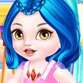 Descendants Villain Babies Games : Baby Evie and Baby Mal are already waiting for you girls, so ...
