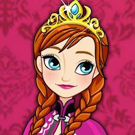 Disney Frozen Classic Fashion Anna Dress Up Game