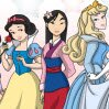 Disney Princess Coloring Games : It's not often you can see all the Disney princesses gathere ...
