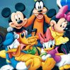 Disney Racers Games : It's a frantic race around ToonTown as Mickey, Minnie, Goofy and Donald drive ar ...