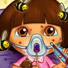 Dora Bee Sting Doctor Games : Dora was attacked by bees and now she has to see a doctor! C ...