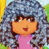 Dora First School Day Haircuts Games : Cute Dora has big plans for this summer vacation: Dora is go ...