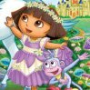 Dora and Unicorn King Games : Dora visits the enchanted forest to help King Unicornio prove that he has what i ...