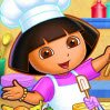 Dora's Cooking Club Games : Cook a pizza is one of the best thing to do in a kitchen. Do ...
