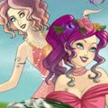 Four Elements Scene Maker Games : Change appearance of four girls, who represent different ele ...