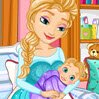 Frozen Elsa Gives Birth Games : Let's give Queen Elsa a precious helping hand and ...