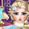 Elsa Hospital Recovery Games : Elsa was playing in a sled, when she suddenly fell into a sn ...