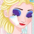 Elsa Make Up Removal Games : Firstly you will have to remove her make up, then you will h ...