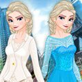 Elsa In NYC Games : Living in her ice made castle begin to be pretty b ...