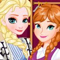 Elsa's Snapchat Challenge Games : Elsa and Anna are in the mood for a challenging dr ...