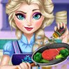 Elsa Real Cooking Games : Elsa is cooking! The Snow Queen needs your help in the kitch ...