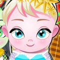 Elsa and Frankie Babies Games : First of all, decided who is going to be the cute baby to en ...